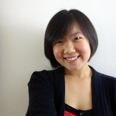 Eureka Chen Yew Foong smiling and facing the camera.
