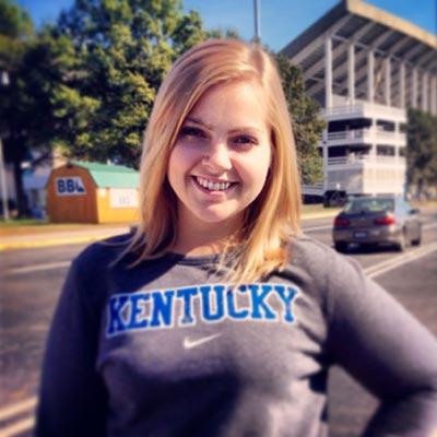 Kara McCord smiling and facing the camera.