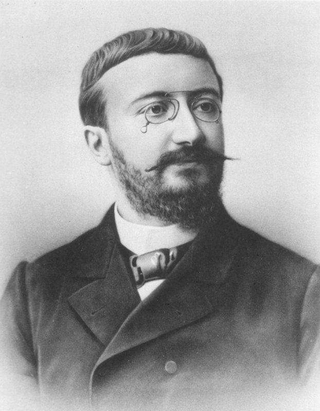 Historical photograph of Alfred Binet