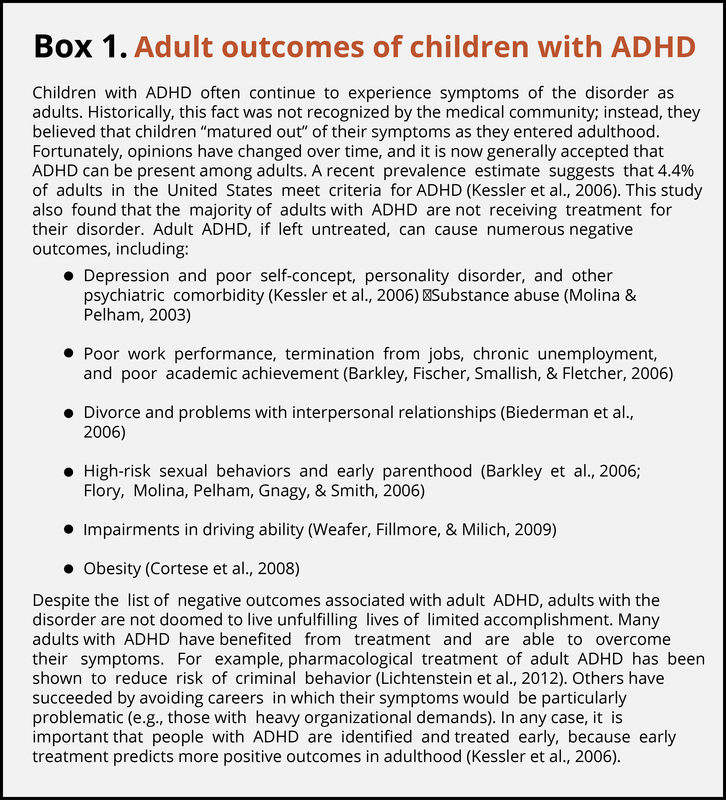 case study of a child with adhd