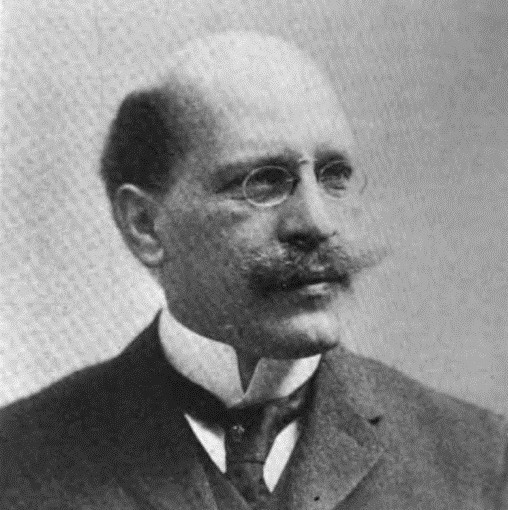 Historical photo of Hugo Munsterberg circa 1907.