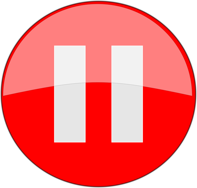 Image of a Pause Button
