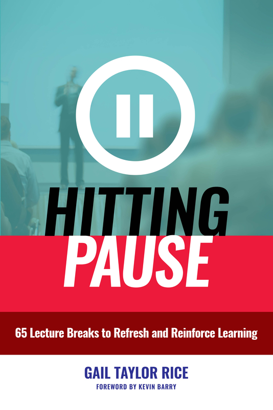 "Image of a Book Cover of ""Hitting Pause"" written by Gail Taylor Rice"